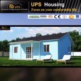 Mit drei Schlafzimmern einzelnes Fußboden-Spiegel-Licht-Stahlkonstruktion-Haus-Landhaus