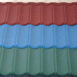 Chips de piedra Coated Metal Roof Tile (tipos de romano)