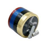 het Kruid Ginder 55mm van het Metaal van de Molens van de Peper van de Diameter van 63mm de Molen van de Tabak van 4 Laag voor het Roken