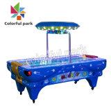 Parque coloridos com moedas de arcada de hóquei de ar eletrônico máquina de jogos de mesa de jogo de vídeo de arcada de equipamentos de diversões da Máquina