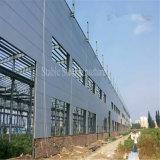研修会、倉庫のための軽いモジュラー鉄骨構造の建物