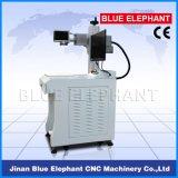 Ele-200 3D Mini Fiber Laser Marking Machine, Plastic, Stone, Stainless Steel를 위한 Portable Metal Laser Printing Machine