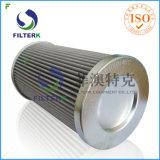 La sustitución del filtro de aceite hidráulico HYDAC