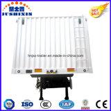 3 Eixos Carga / Carvão / Utilitário Vans Transportes Encosto Shape Box Trailer para Venda