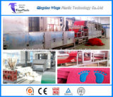 Stuoia del ciclo del PVC che fa la linea di produzione della moquette di ciclo della macchina/PVC