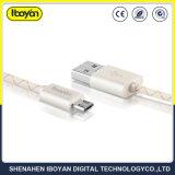 주문을 받아서 만들어진 100cm USB 데이터 마이크로 전화 케이블