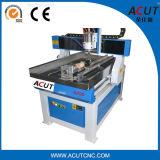 4 linha central 3D que cinzela a máquina de trabalho de madeira do router 6090 do CNC