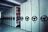 Prateleira móvel compacta para armazenamento