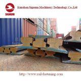 Guida d'acciaio della gru di DIN536 En10025-2 A75