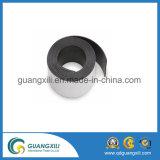 Folha magnética de borracha de borracha flexível com adesivo de 3 mm
