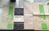 Imballaggio di pane impermeabile al grasso del commestibile, sacchetto della carta kraft Per l'imballaggio di pane