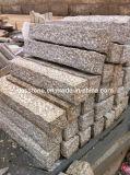 Ajardinar la piedra natural de la piedra del bordillo amarilla del granito G682