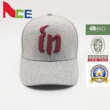 Casquette de baseball 100% multicolore de polyester de broderie de l'usine 3D de chapeaux de Guangzhou