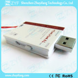 Azionamento di plastica dell'istantaneo del USB di figura del libro con il marchio (ZYF1816)
