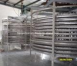 Congelatore multiplo di spirale del doppio dei frutti di mare di senso per i frigoriferi in Cina