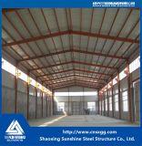 Taller barato industrial de la estructura de acero con el material de construcción de la viga