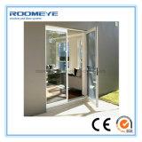 Roomeye는 상한 디자인 여닫이 창 또는 그네 알루미늄 문을 주문을 받아서 만들었다