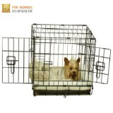 Black Métal Eletro-Coat chien Cage pet