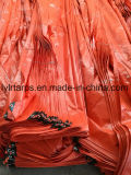 Couverture de bâche de protection de PE, bâche de protection orange