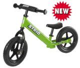 Rotes schwarzes orange grün-blaues 12 Kinder klassisches Blance Fahrrad