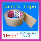 Impreso de Hot Melt de cinta de papel kraft para sellar cartón Logotipo personalizado