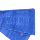100% хлопок из жаккардовой ткани голубого цвета спорта полотенце