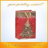 Елочные подарочные бумажные пакеты