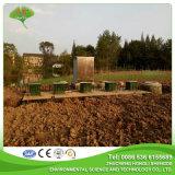 Traitement d'eaux d'égout combiné enterré de l'eau usagée industrielle