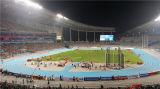 La Salud Ambiental de caucho prefabricadas pista de atletismo