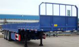 2016 Venta caliente 3ejes neumáticos/12la pared lateral/panel lateral/Valla Utility Trailer
