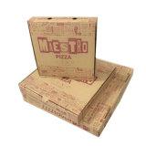 Rectángulo de encargo de la pizza del papel de cartulina acanalada e flauta