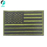 マルチカラー米国アメリカのフラグの刺繍パッチ