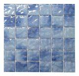 Materiale da costruzione di colore del mosaico di vetro blu della piscina