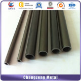 Q235 Negro tubo redondo de acero suave (CZ-RP62).
