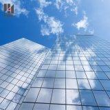 Parede de cortina de vidro do frame de alumínio da engenharia de vendas diretas da fábrica