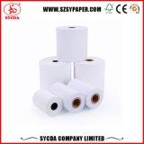 Rodillo del papel de pulpa de madera del papel termal de la caja registradora de la posición Sistema 80 *80mm