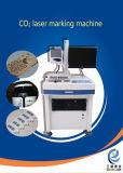 imprimante en bois de /Laser de fibre en métal du CO2 30W de laser de gravure de machine portative d'inscription