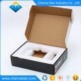 Caixa de Papelão Ondulado papel personalizado com almofada interior em espuma
