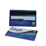 Carte en plastique personnalisée polychrome de cadeau de PVC de l'impression Cr80