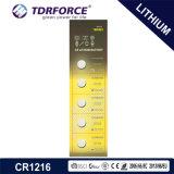 3V 장난감 (CR1220)를 위한 세륨을%s 가진 Non-Rechargeable 단추 세포 리튬 건전지