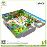 La Cina grande progetta il parco di divertimenti per il cliente dell'interno del gioco molle dei bambini