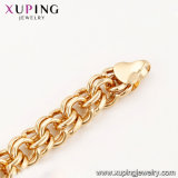 43937 de Nieuwe Halsband van de Tegenhanger van de Hoogste Kwaliteit van de Aankomst Xuping Speciale 18K Gouden Dwars