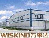 Structure en acier de grande portée pour la fabrication de matériaux de construction
