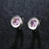 卸し売り真鍮の宝石類のシンプルな設計の方法スタッドのイヤリングの宝石類