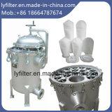 Singoli e multi fornitori della custodia di filtro dell'acciaio inossidabile del sacchetto ss