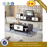 Meubles modernes de salle de séjour de première table basse en bois en verre (UL-MFC0263)
