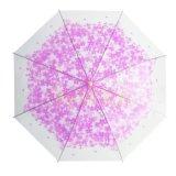 ورقة خضراء يطبع [بو] بناء مظلة مستقيمة