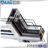 Feuerfestigkeit-und thermische Isolierungs-Aluminiumglaszwischenwände