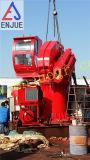 2t7m 전기 유압 망원경 바다 갑판 기중기