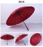 ترويجيّ هبة سيارة مسيكة صامد للريح مفتوحة [24ك] مستقيمة إعلان مظلة صاحب مصنع